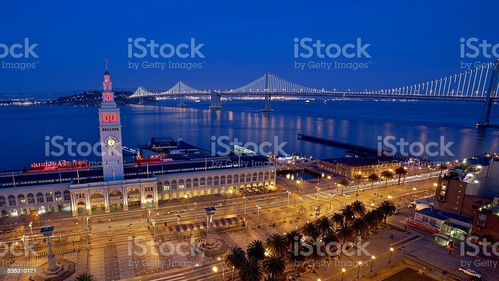 Port of San Francisco stock photo