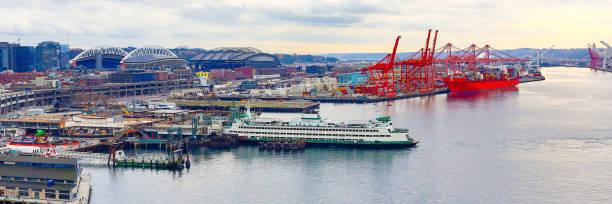Port of Seattle, United States stock photo