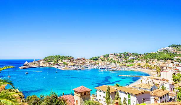 Port of Soller (Mallorca) stock photo