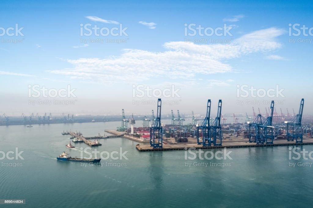 Hafen von tianjin – Foto