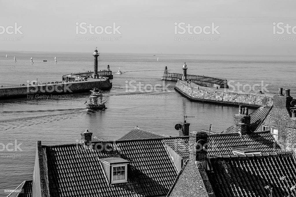 Port of Whitby royalty-free stock photo