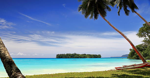 port olry beach-vanuatu port olry beach-vanuatu vanuatu stock pictures, royalty-free photos & images