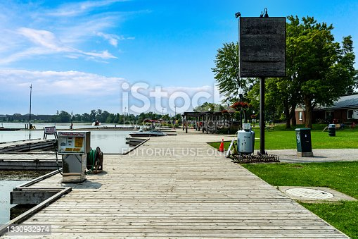 istock Port Perry Marina in summer, Lake Scugog, Port Perry, Canada 1330932974