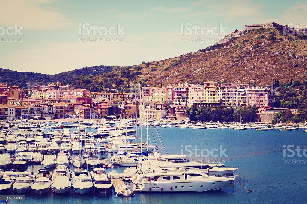 Port stock photo