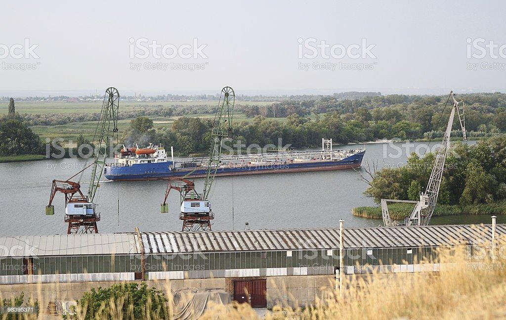 Port royalty-free stock photo