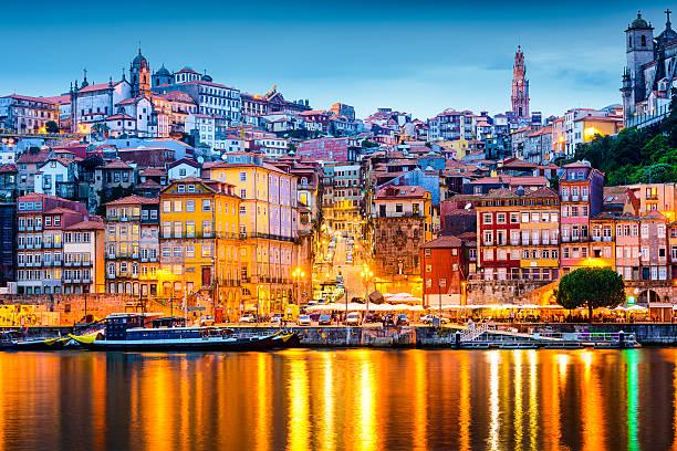 horizonte porto portugal - portugal imagens e fotografias de stock