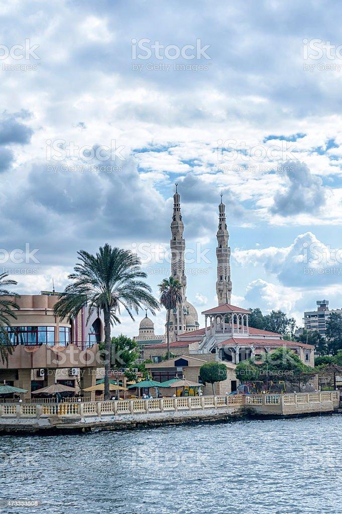 Port Said, Egypt stock photo