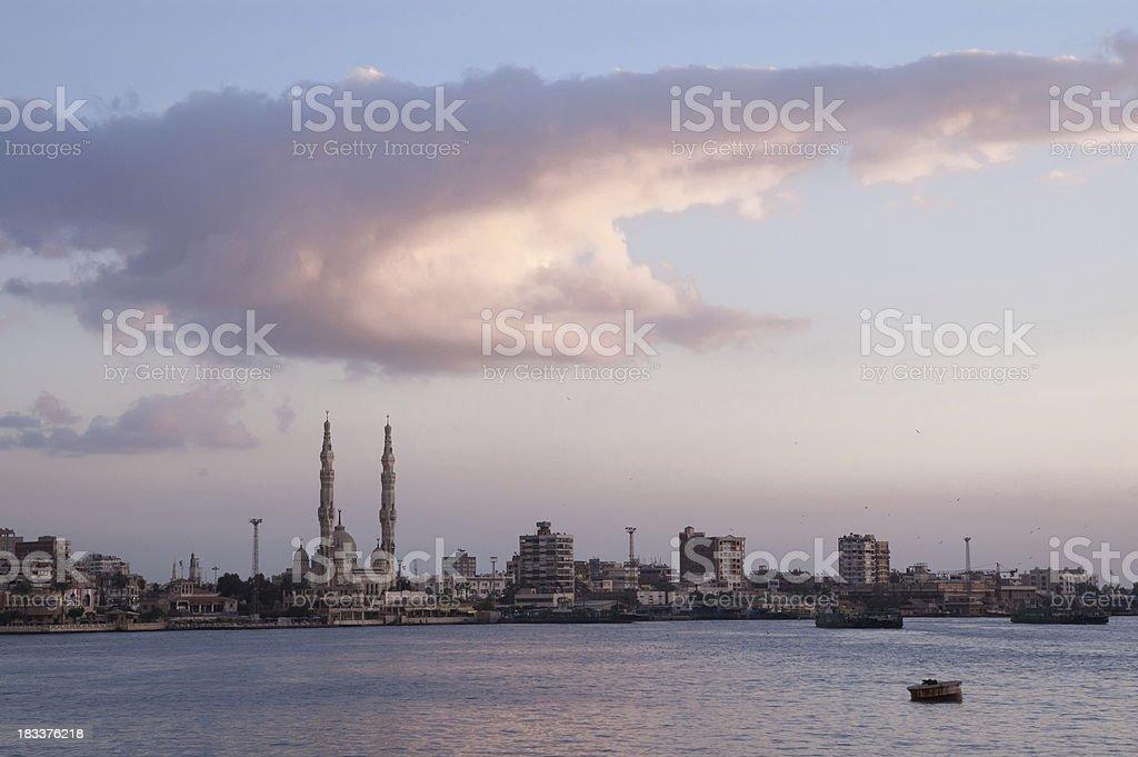 Port Said stock photo