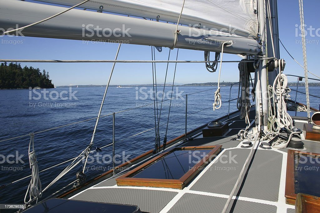 Port side. stock photo