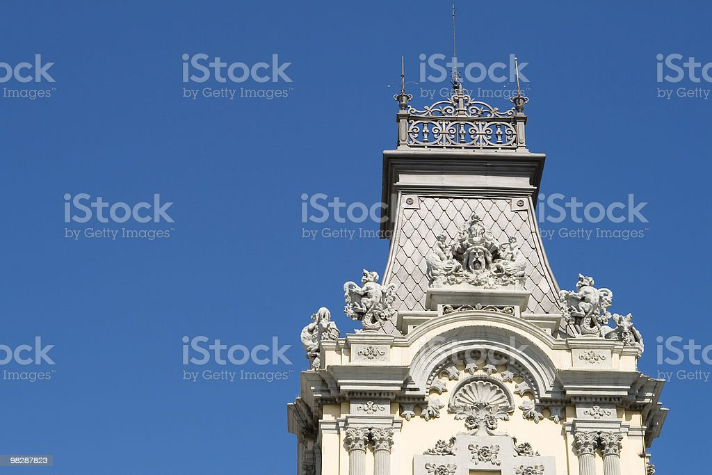 Port tower in Barcelona, Spain. royalty-free stock photo