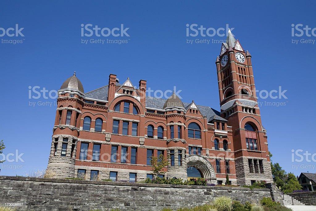 Port Townsend Courthouse Washington State royalty-free stock photo