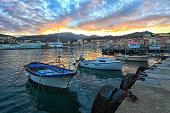 le port de Port Vendres - Pyrénées-Orientales, France.