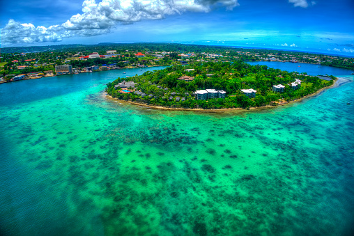 Port Vila Bay Vilavanuatu Stock Photo - Download Image Now