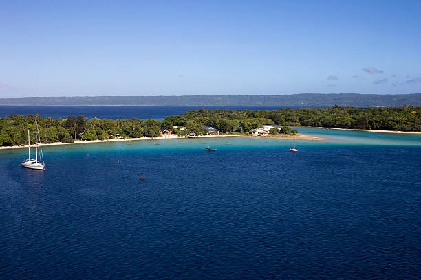 Port Vila Port VIla, Island of Efatu, Vanuatu vanuatu stock pictures, royalty-free photos & images
