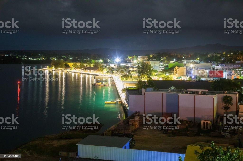 Port Vila, Vanuatu - Royalty-free Afgelegen Stockfoto