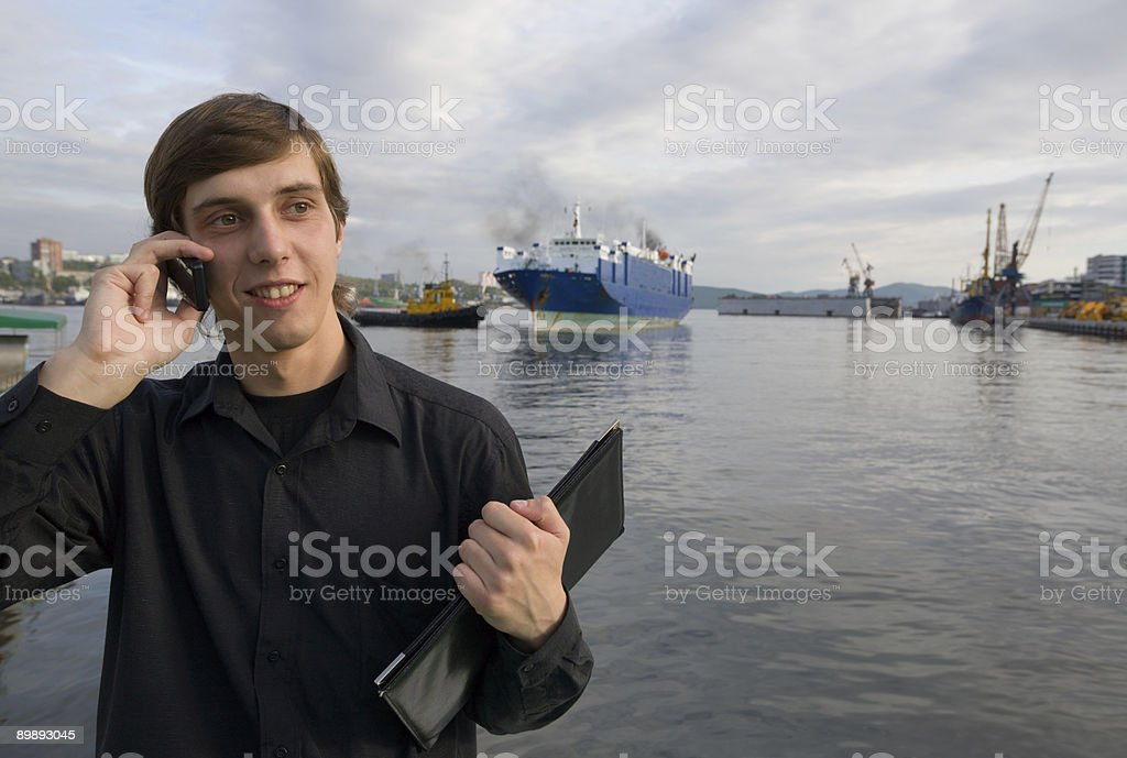 port Vladivostok royalty-free stock photo