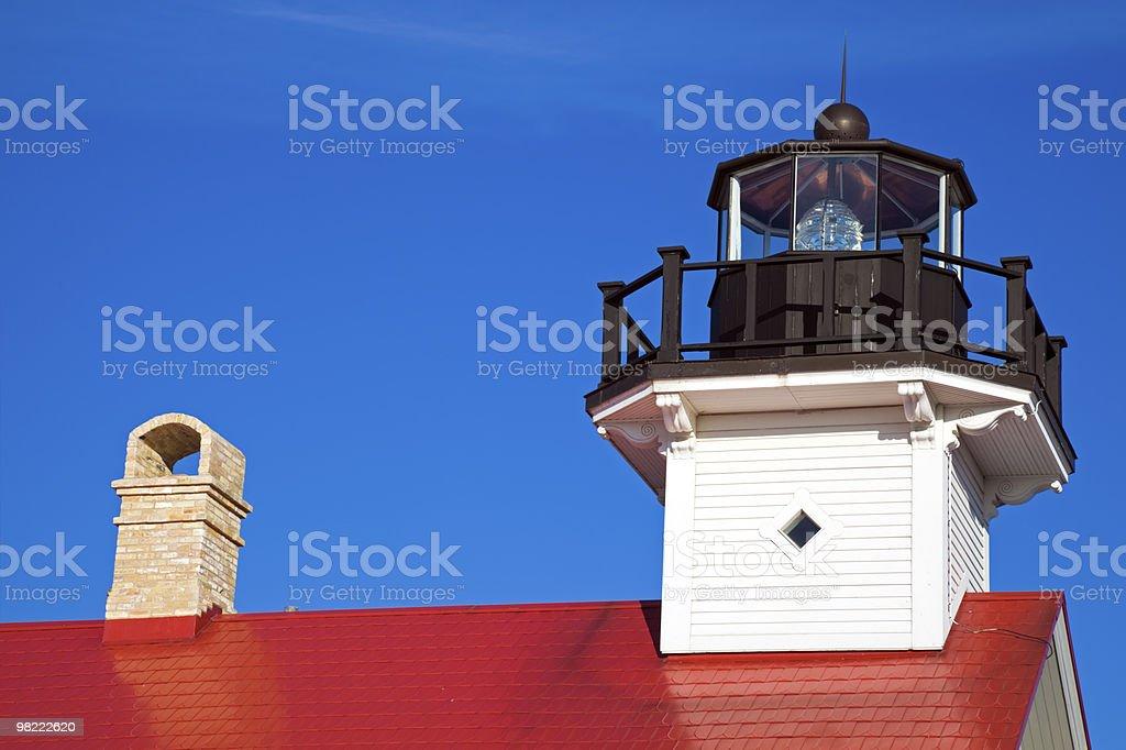 Port Washington Lighthouse royalty-free stock photo