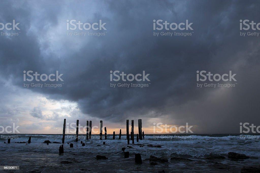 Port Willunga Jetty, Fleurieu Peninsula South Australia royalty-free stock photo