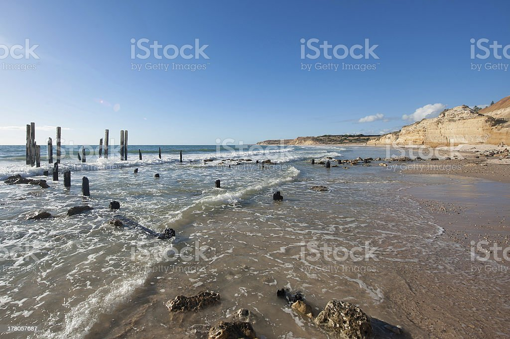 Port Willunga, South Australia stock photo