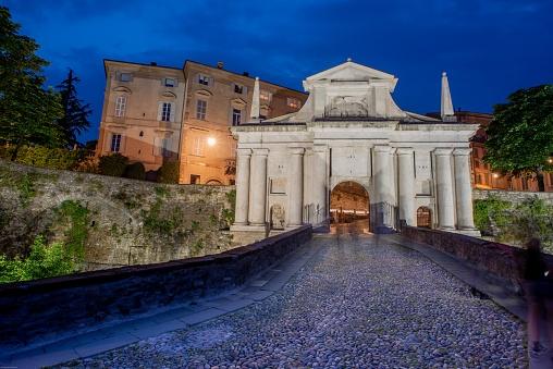 Porta San Giacomo in Bergamo