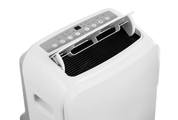 Portable air conditioner isolated on white background – Foto