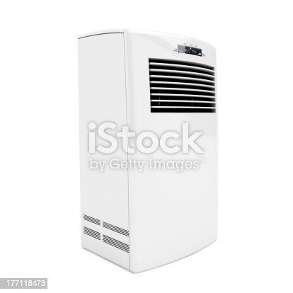 177118473 istock photo Portable air conditioner 177118473
