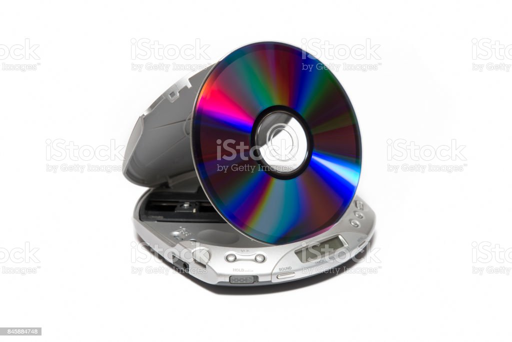 Portable Cd Player stock photo