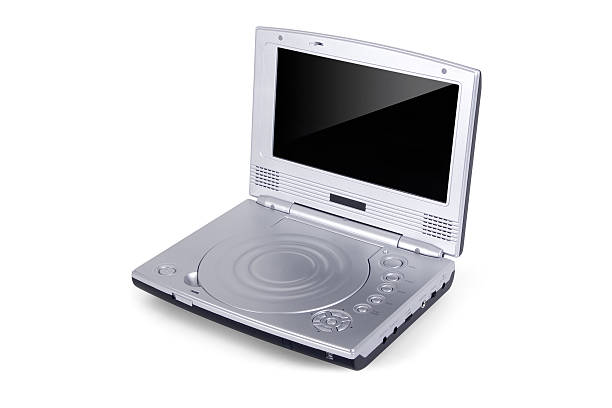 Portable DVD Player stock photo