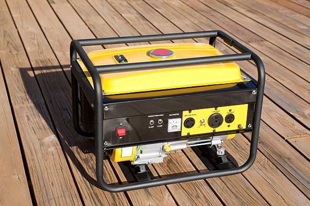 generador eléctrico portátil - generadores fotografías e imágenes de stock