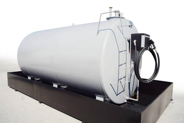 draagbare brandstoftank - brandstoftank stockfoto's en -beelden