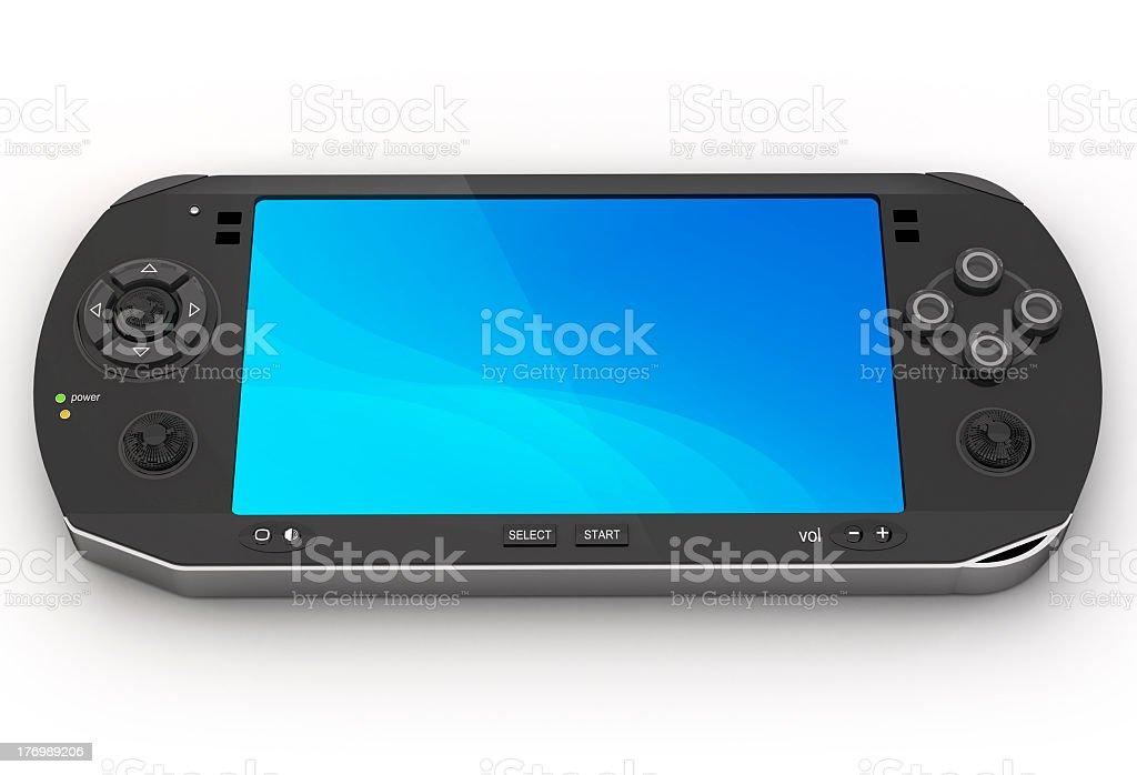 Portable game console stock photo