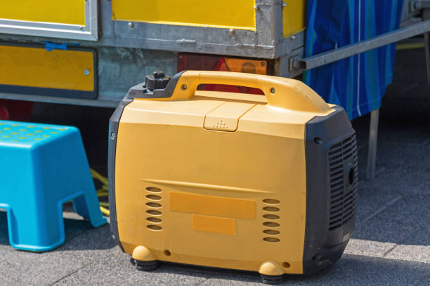 Portable Generator stock photo
