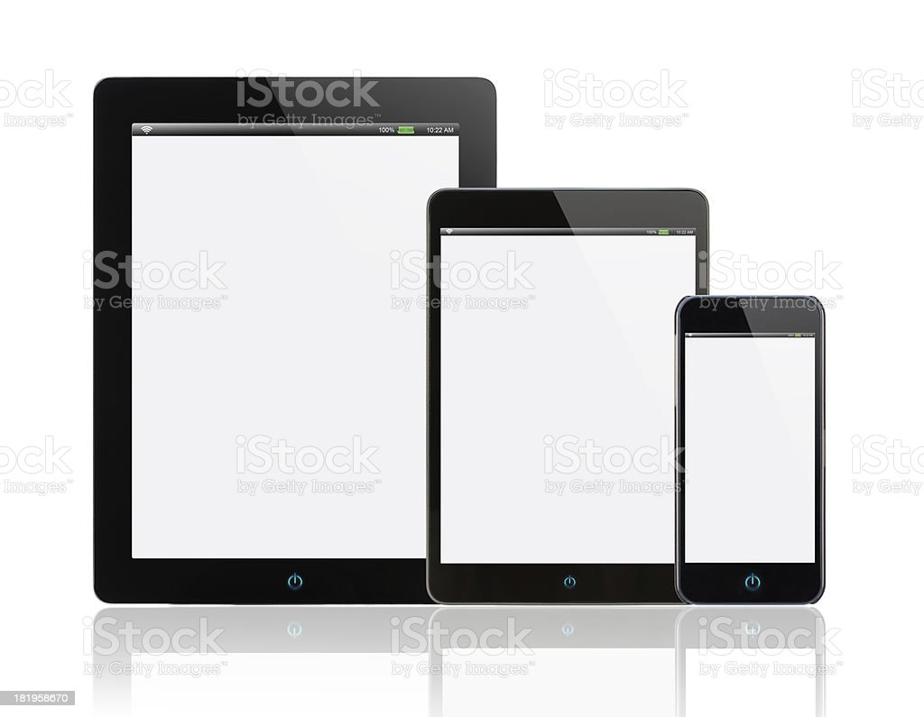 Portable information device royalty-free stock photo
