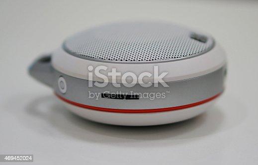 istock Portable loudspeaker 469452024