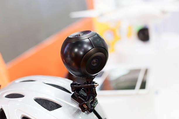 Caméra panoramique portable technique Goûtez à une exposition. - Photo