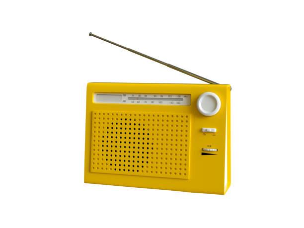 portable radio - radio foto e immagini stock