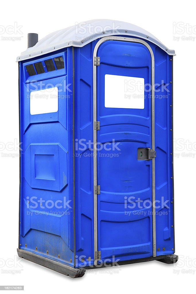 Portable Toilet royalty-free stock photo