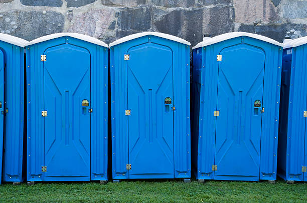 Portable toilets  portable toilet stock pictures, royalty-free photos & images