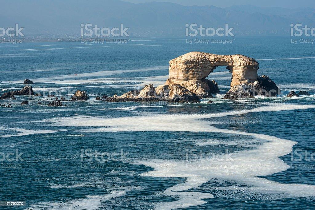 Portada Rock, Antofagasta, Chile stock photo