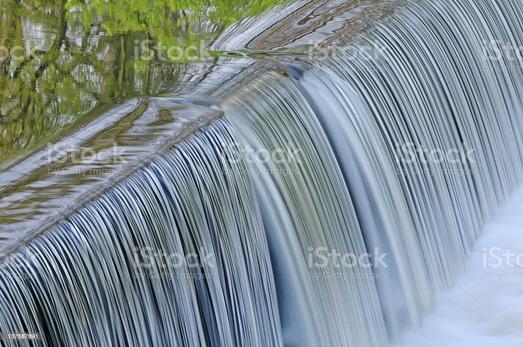 Portage Creek Cascade stock photo