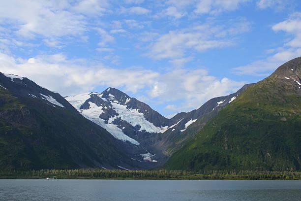 Portage Glacier, Alaska stock photo