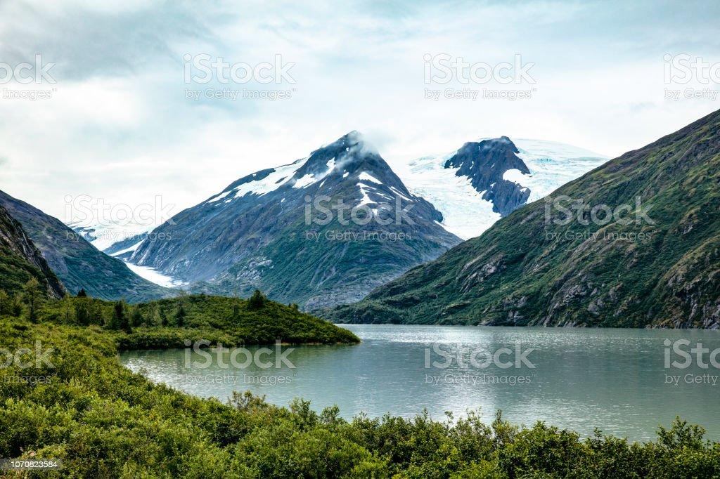 Portage Glacier And Lake Kenai Peninsula Alaska Stock Photo Download Image Now Istock