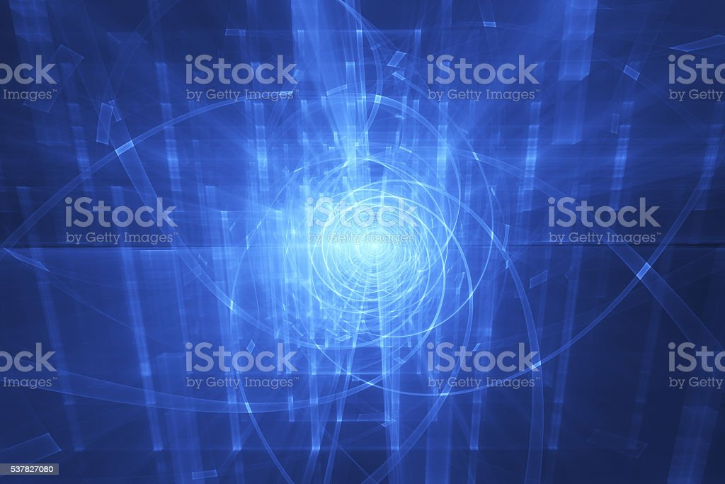 portal, abstract technologic background stock photo