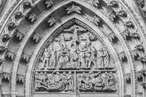 Portal Of St Vitus Cathedral Stock Photo & More Pictures of Ancient