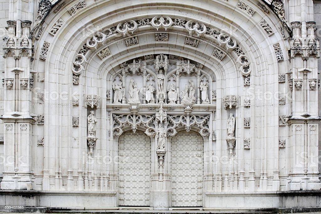 Porte du monastère Royal de Brou de Bourg-en-Bresse - Photo