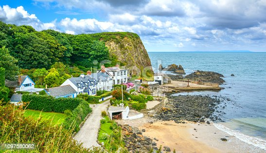 istock Portbradden, small village near Ballintoy, County Antrim, Northern Ireland. 1097580062