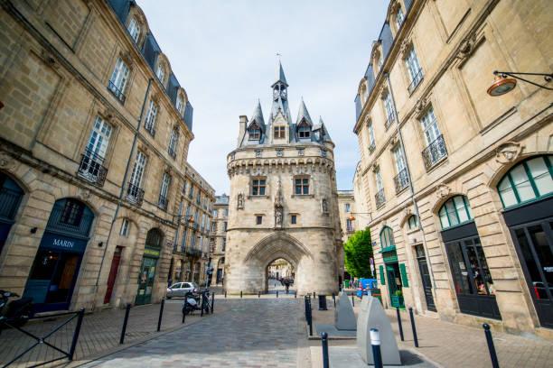 Porte Cailhau, Cailhau Gate, Bordeaux, Frankreich – Foto