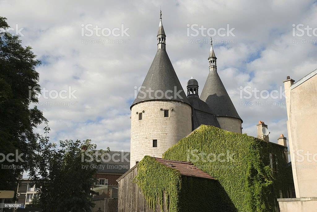 Porte de la Craffe royalty-free stock photo