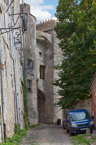 Porte Des Chenizelles In Laon Stock Photo - Download Image Now