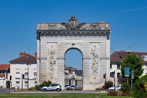 Porte Saintecroix In Châlonsenchampagne Stock Photo - Download Image Now